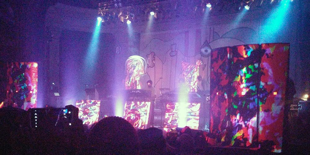 Animal Collective at the Newport on February 26th, 2016