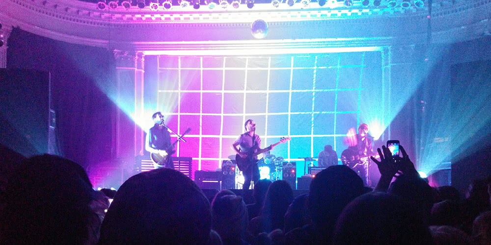 Dr. Dog playing at the Newport on March 29th, 2016.