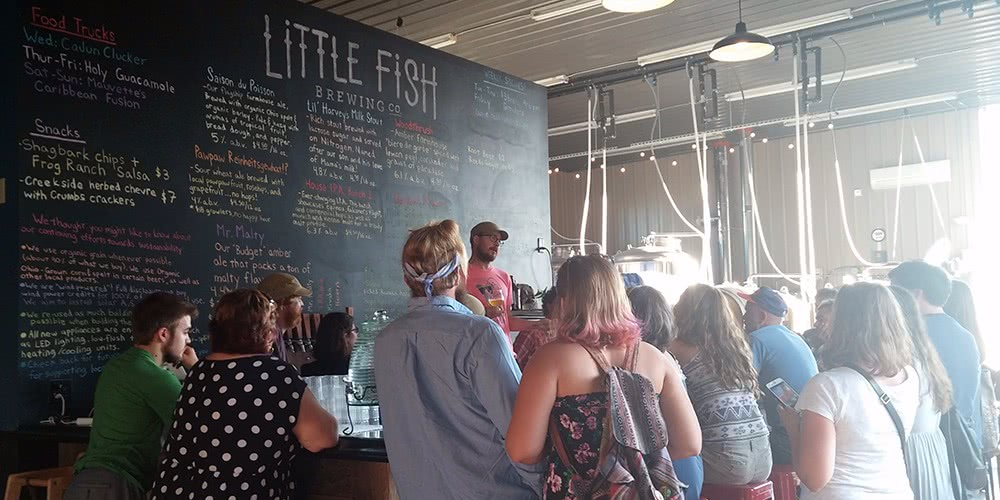 Little Fish Brewing new beer release.