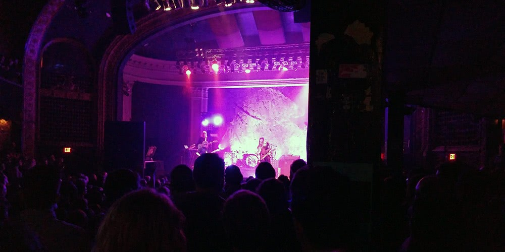Sleater-Kinney at the Newport on December 5th, 2015