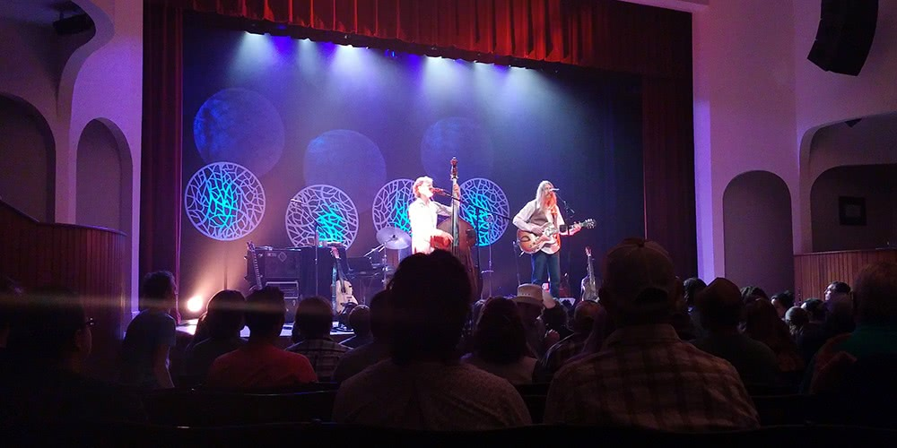 The Wood Brothers at Stuart's Opera House on September 28th, 2015