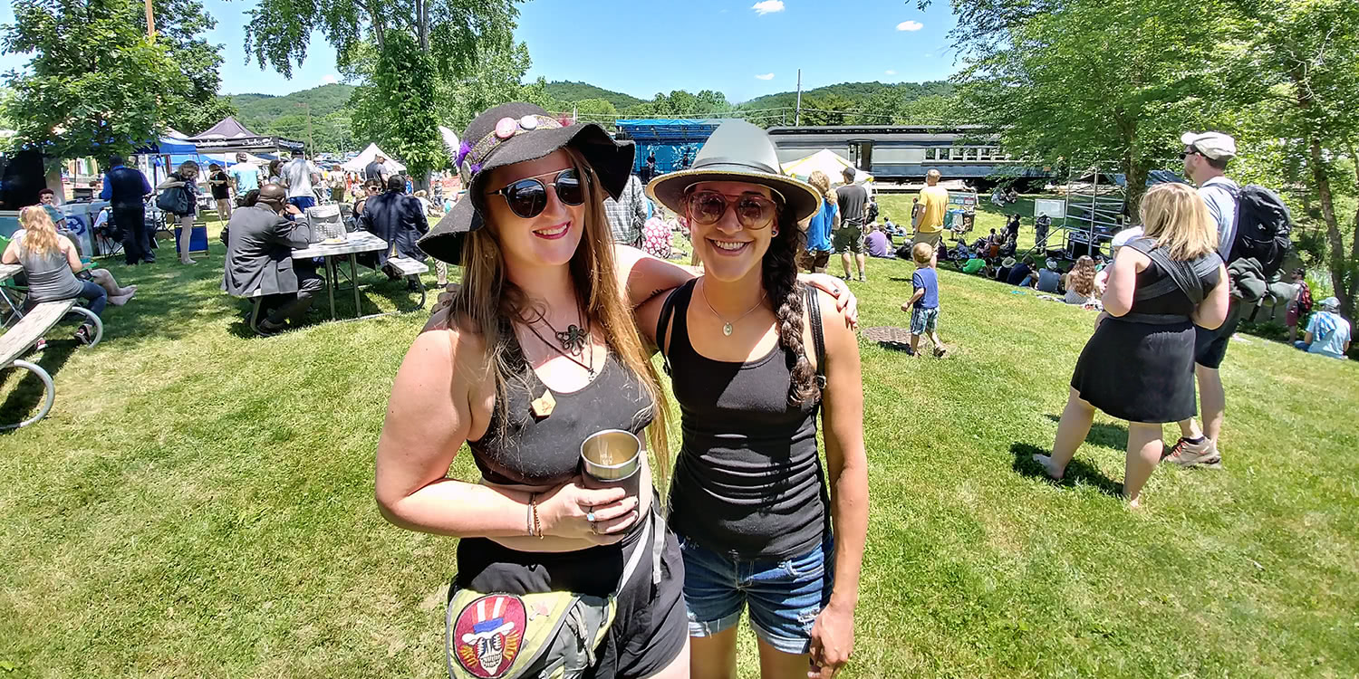 Nelsonville Music Festival 2017 - Heather and Emily