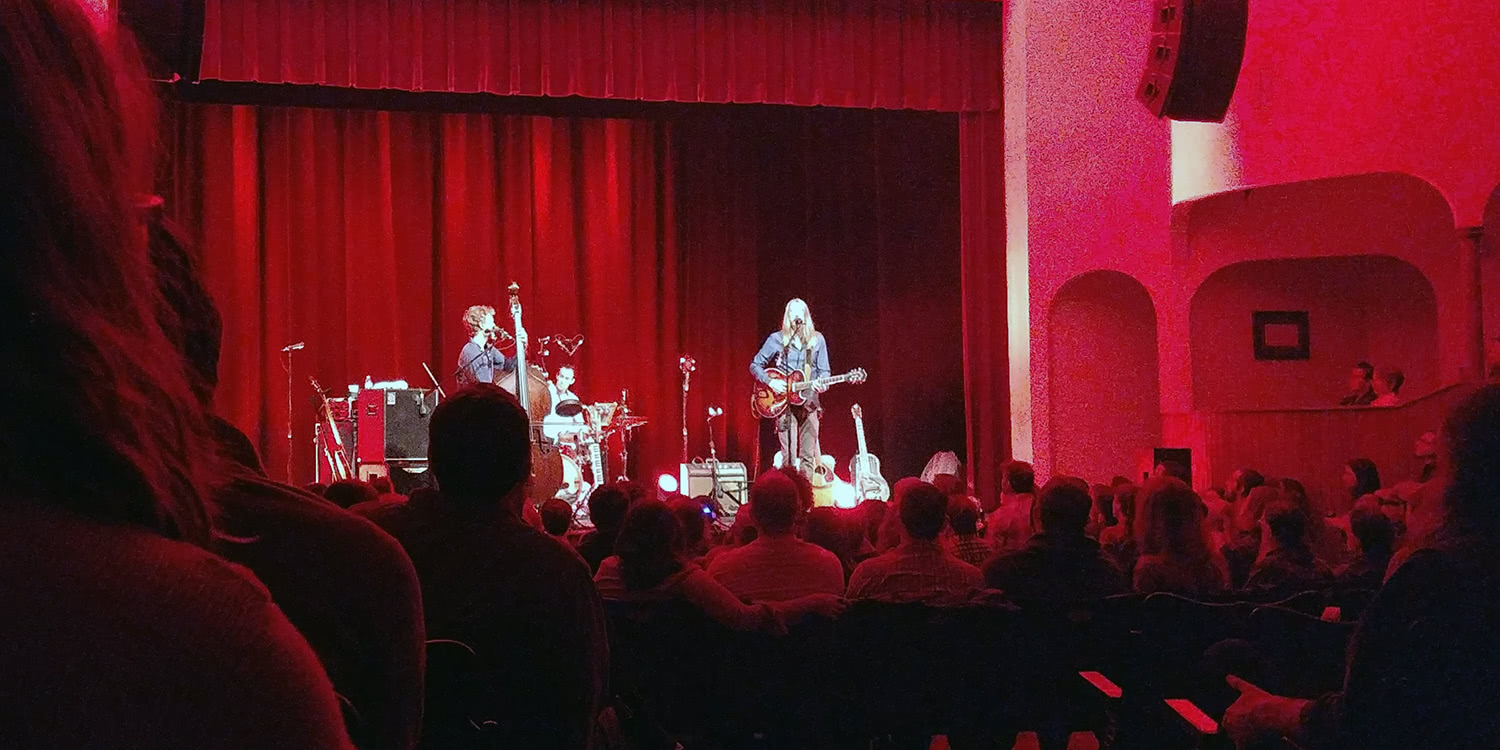 The Wood Brothers at Stuart's Opera House in Nelsonville, Ohio