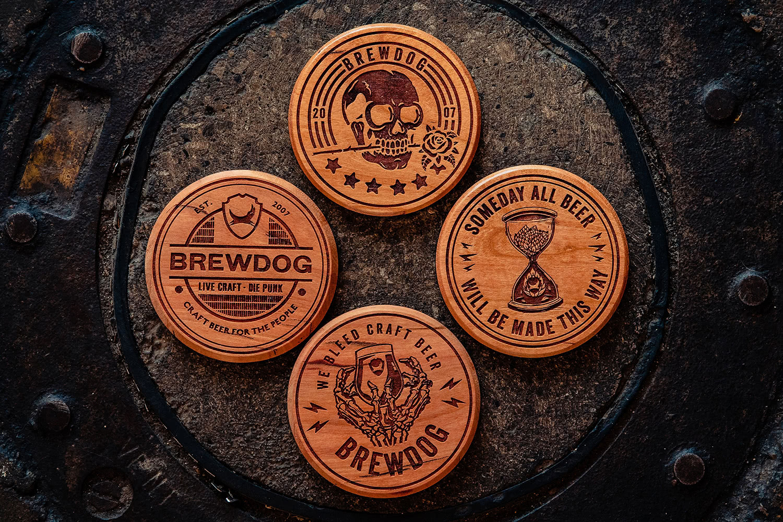 A Huge Order of Coasters for BrewDog USA