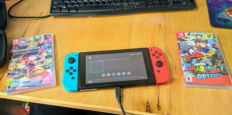 Got a Nintendo Switch