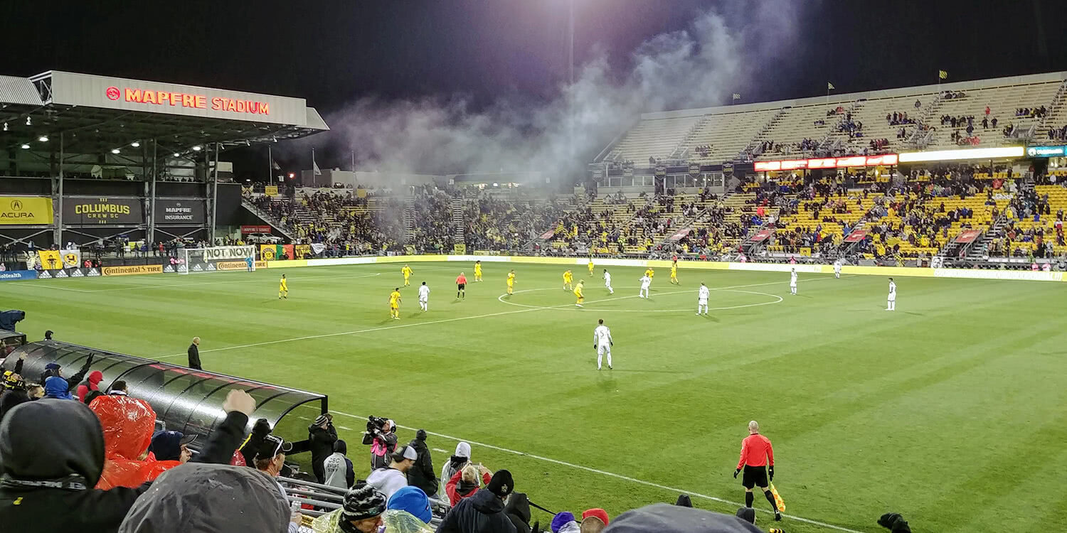 The First Home Match After Learning the Crew Were Staying