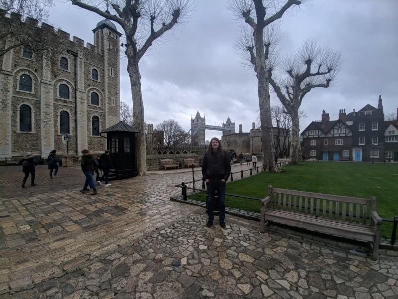 Tower of London, Tower Bridge, and me