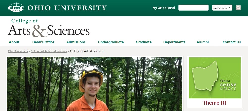 Ohio University - College of Arts & Sciences